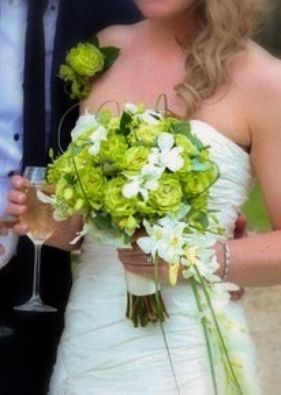 Handtie with beautiful trailing OrchidsNikki's Wedding Album