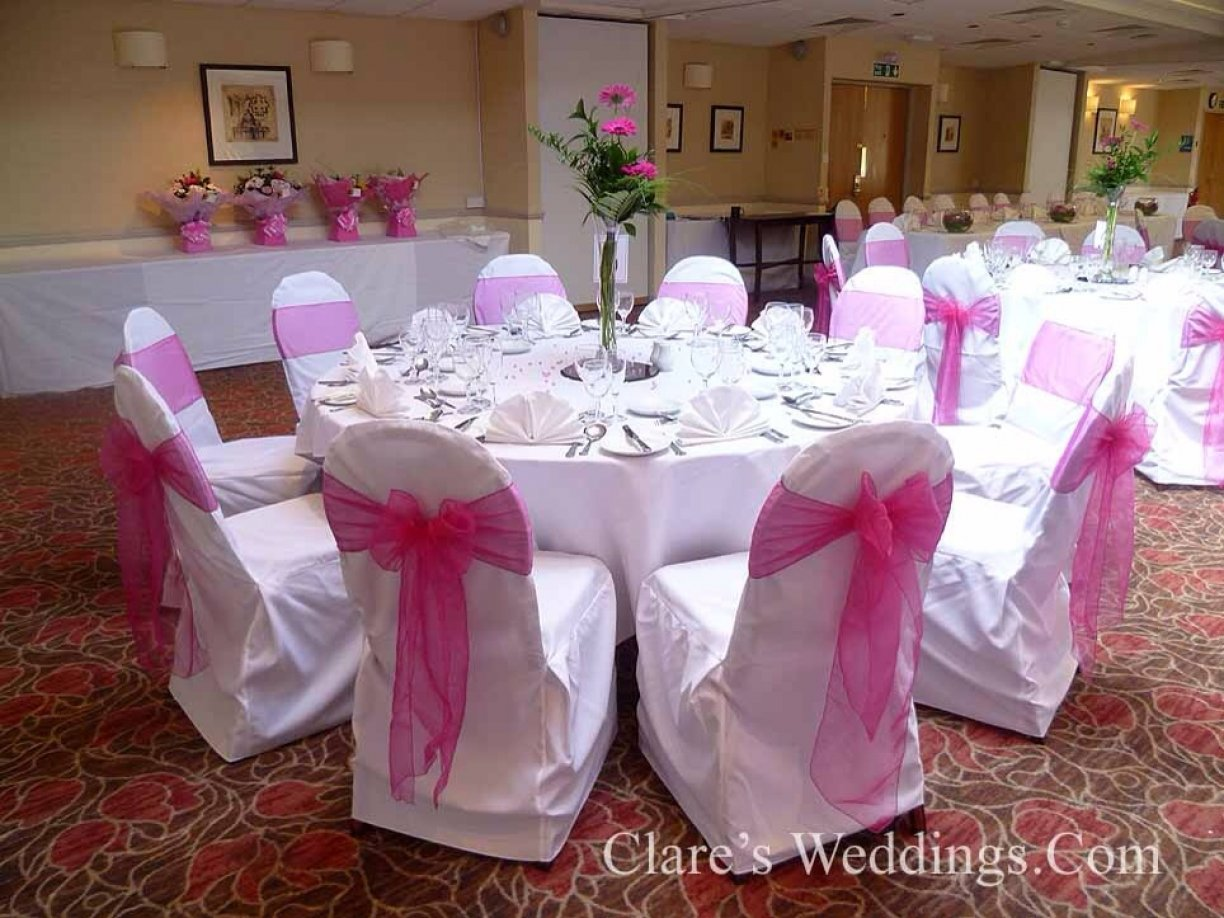 We deliver, Fit & Collect your chair covers & sashes! No other hidden costs!