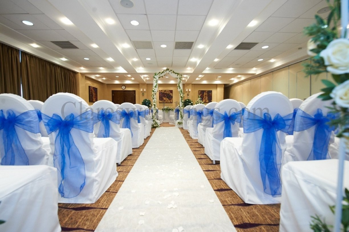 Collect, set up & return chair covers yourself
